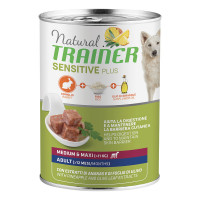 Natural Trainer Dog Sensitive Plus Medium&Maxi Adult con coniglio 400 gr.