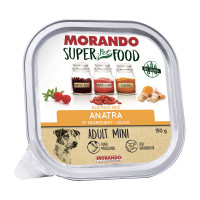 Morando Superpetfood Adult Mini paté Anatra 150 gr.