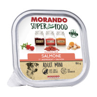 Morando Superpetfood Adult Mini paté Salmone 150 gr.
