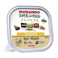 Morando Superpetfood Adult Medium paté Tacchino 300 gr.
