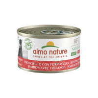 Almo Nature HFC Dog Natural Made in Italy Prosciutto con Formaggio 95gr