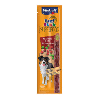 Vitakraft Beef-Stick Superfood Piselli / Mirtilli 25 gr.