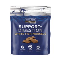 Fish4Dogs Digestion White Fish Morsels Support+ 225gr
