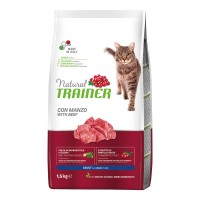 Natural Trainer Adult con Manzo 1,5 Kg