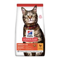 HIll's Science Plan Adult Alimento secco per gatti al pollo 10kg