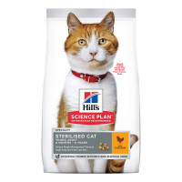 Hill's Science Plan Young Adult Sterilised Cat al Pollo 7kg