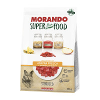 Morando SuperPetFood Sterilized croccantini Anatra 350 gr.