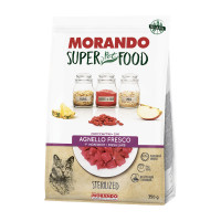 Morando SuperPetFood Sterilized croccantini Agnello 350 gr.