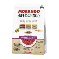 Morando SuperPetFood Sterilized 8+ croccantini Agnello 350 gr.