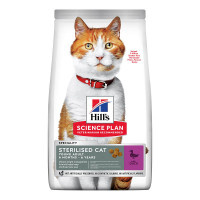Hill's Science Plan Sterilised Cat Young Adult con Anatra 7kg