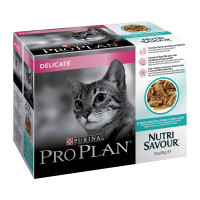 Purina Pro Plan Adult Delicate Multipack con Pesce dell'oceano 10 X 85 gr