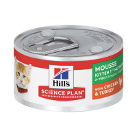 HIll's Science Plan Kitten First Nutrition Mousse al pollo e tacchino  82 gr