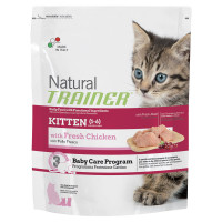 Natural Trainer Kitten & Young Pollo 4 X 85 gr