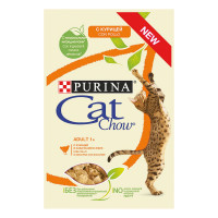 Cat Chow adult Pollo e Zucchine 85 gr.