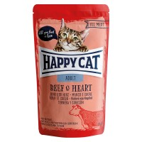 Happy Cat All Meat Adult Manzo e Cuore 85 gr.