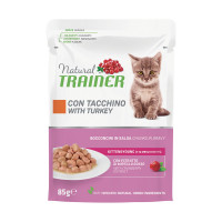 Natural Trainer Kitten&Young Tacchino 85 gr.