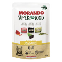 Morando SuperPetFood Adult Mousse Tacchino 85 gr.