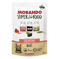 Morando SuperPetFood Adult Mousse Salmone 85 gr.
