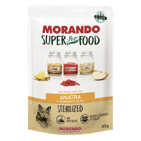 Morando SuperPetFood Sterilized Mousse Anatra 85 gr.