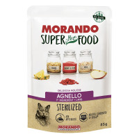 Morando SuperPetFood Sterilized Mousse Agnello 85 gr.