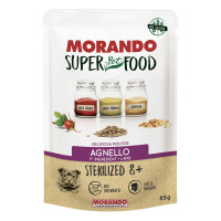 Morando SuperPetFood Sterilized 8+ Mousse Agnello 85 gr.