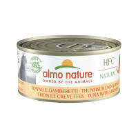 Almo Nature HFC Cat Natural Tonno e Gamberetti 150gr
