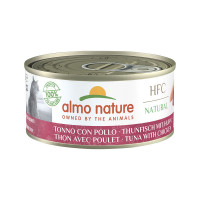 Almo Nature HFC Cat Natural Tonno con Pollo 150gr