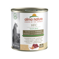 Almo Nature HFC Cat Natural Tonno con Gamberetti 280gr