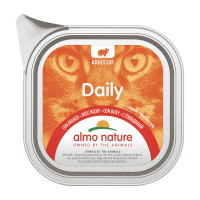 Almo Nature Daily Cat Grain Free Recipe Manzo 100gr