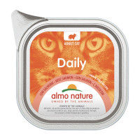 Almo Nature Daily Cat Grain Free Recipe Con Salmone 100gr