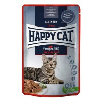 Happy Cat Adult Meat in Sauce Bavarian Beef - Manzo Busta 85gr