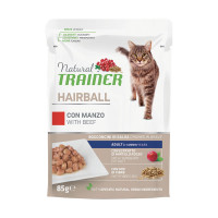 Natural Trainer Hairball con Manzo 85 gr