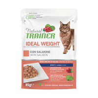 Natural Trainer Cat Ideal Weight Salmone 85 gr.
