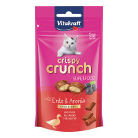 Vitakraft Crispy Crunch Superfood Anatra e Aronia 60 gr.