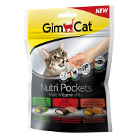 Gimcat Cat Nutri Pockets Malt-Vitamin Mix 150gr