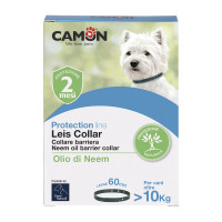 Camon Orme Naturali Leis Collar Collare Barriera all'olio di Neem Tg. L