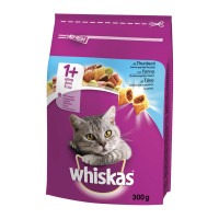 Whiskas Dry Cat Adult 1+ con Tonno 300gr