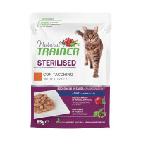Natural Trainer Adult Sterilised Tacchino 85 gr.
