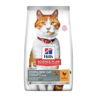 Hill's Sterilised cat young adult Pollo 1,5 kg