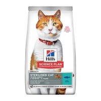 Hill's Sterilised cat young adult tonno 1,5 kg