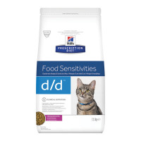 Hill's Prescription Diet d/d Feline Anatra 1,5 Kg