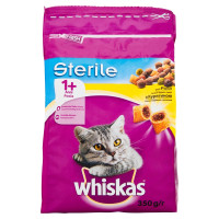 Whiskas Croccantini 1+ Sterilised 350 gr