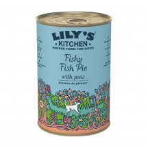 Lily's Kitchen Fishy Fish Pie with peas 400 gr.