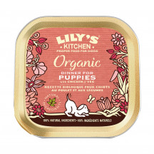Lily's Kitchen Organic Dinner for Puppies with Chicken & Veg. 150 gr