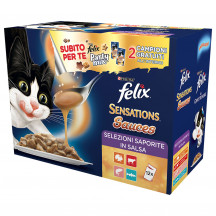 Felix Sensation sauces 12x100 gr + snack