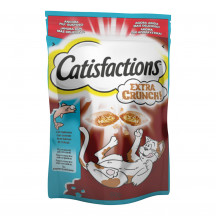 Catisfactions Extra Crunch con Salmone 60 gr.