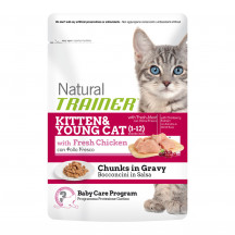 Natural Trainer Kitten&Young Pollo 85 gr.