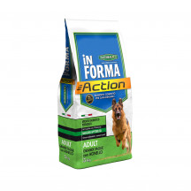 Naturalpet In Forma Action Adult taglia grande Agnello
