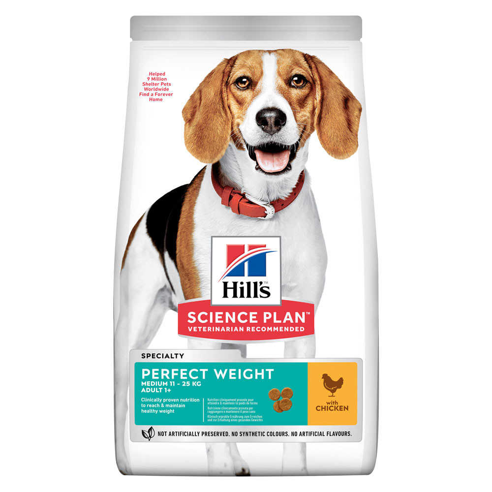 Hill's Science Plan Perfect Weight Medium con Pollo 2 kg.