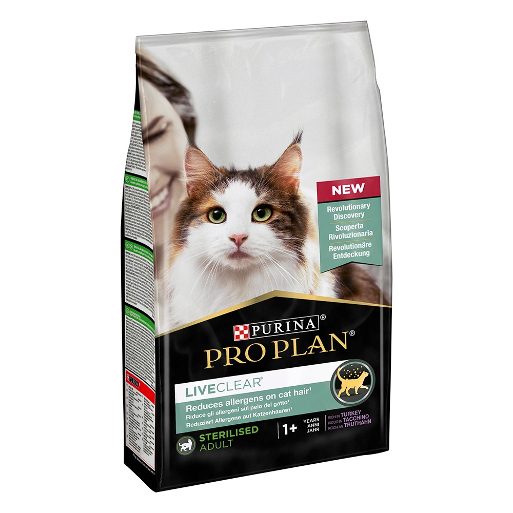 Pro Plan Liveclear Cat Tacchino 1,4Kg